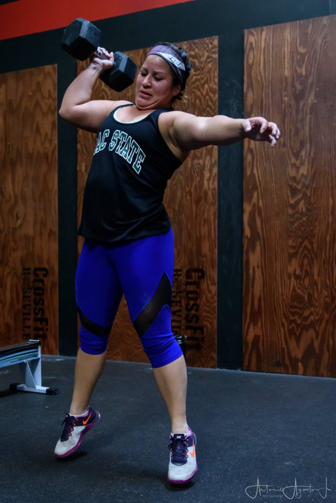 Nadia Recendez at CrossFit Roseville