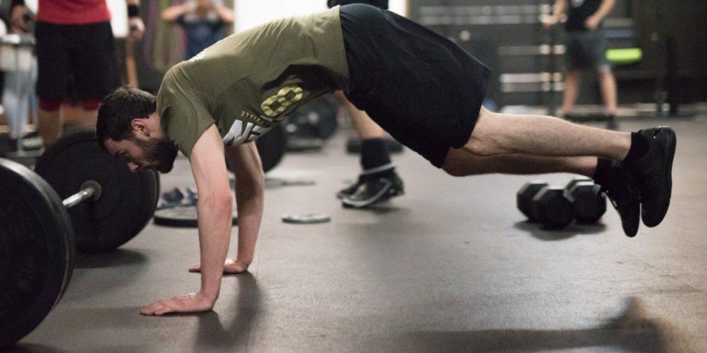 Steven Richards at CrossFit Roseville