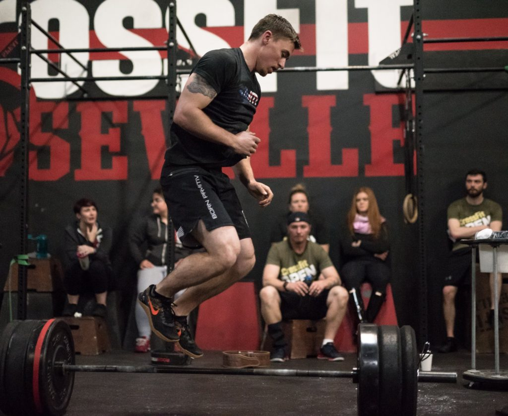 Kelton McDonald at CrossFit Roseville