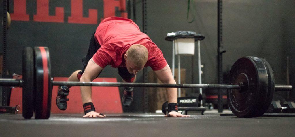 Eric #BadAtCrossFit at CrossFit Roseville