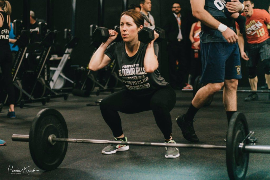 Allison North at CrossFit Roseville