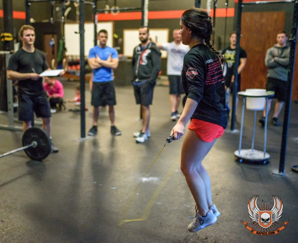 Hannah Schaefer at CrossFit Roseville