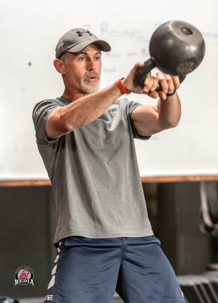 Jim Brown at CrossFit Roseville