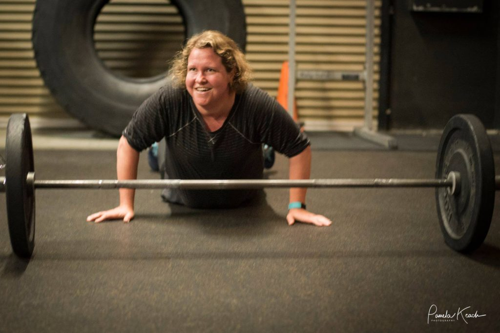 Macie Johnson at CrossFit Roseville