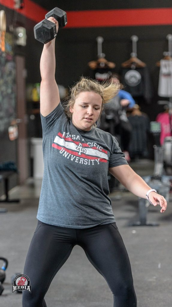 Macie Johnson at CrossFit Roseville