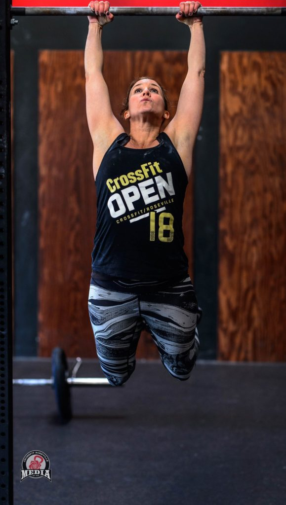 Nicole Berger at CrossFit Roseville