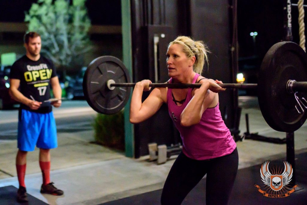 Tracey Sutton at CrossFit Roseville