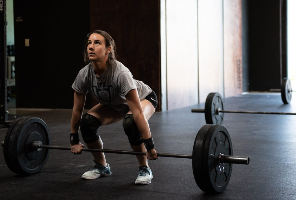 Amanda Juhl at CrossFit Roseville