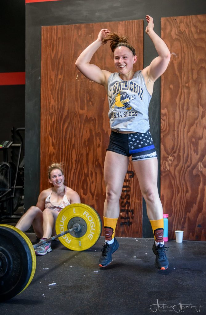 Alexis and Alana at CrossFit Roseville