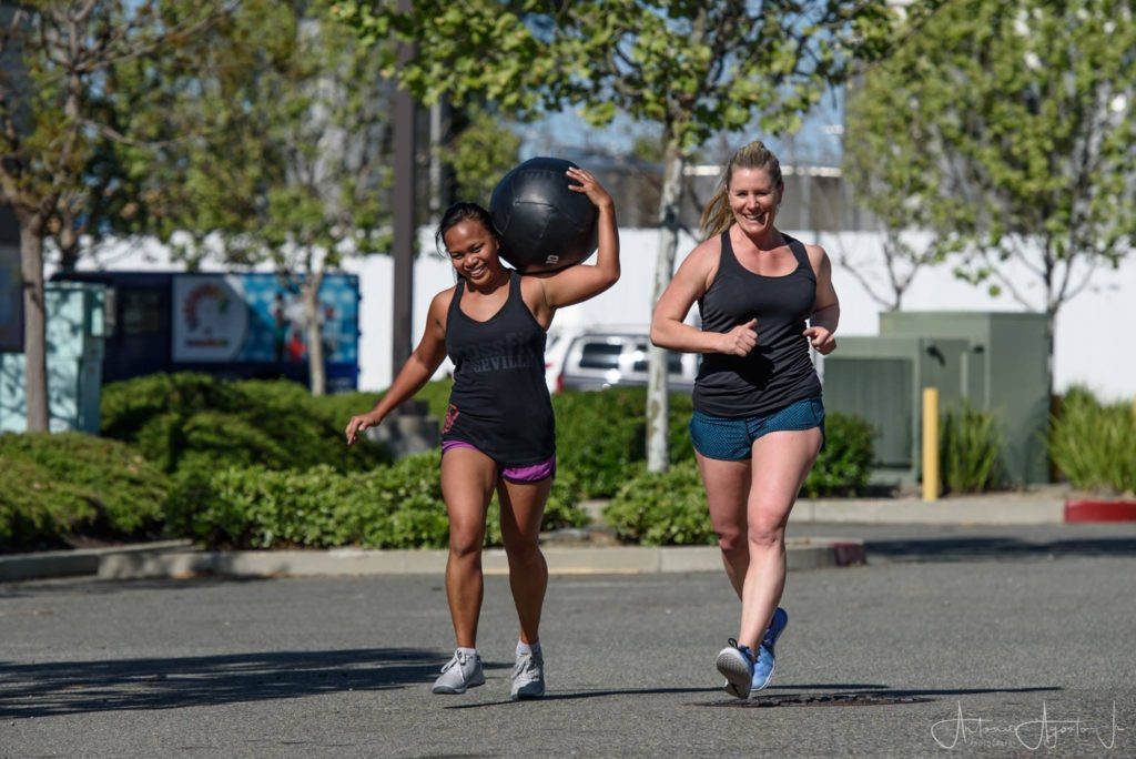 Jhoana & Sandy at CrossFit Roseville