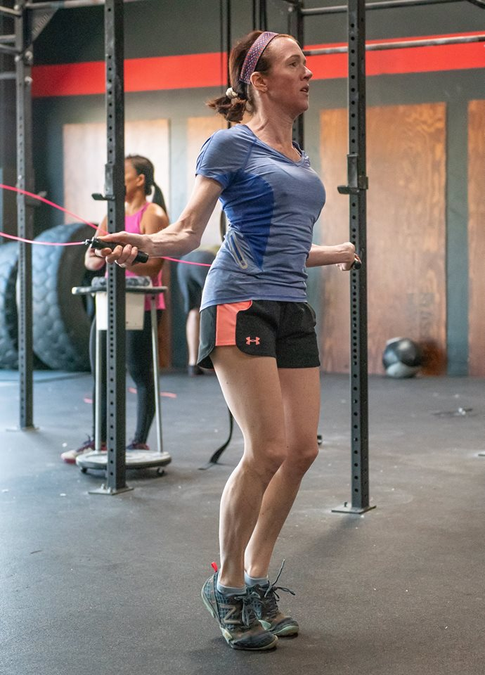 Tina Harney at CrossFit Roseville
