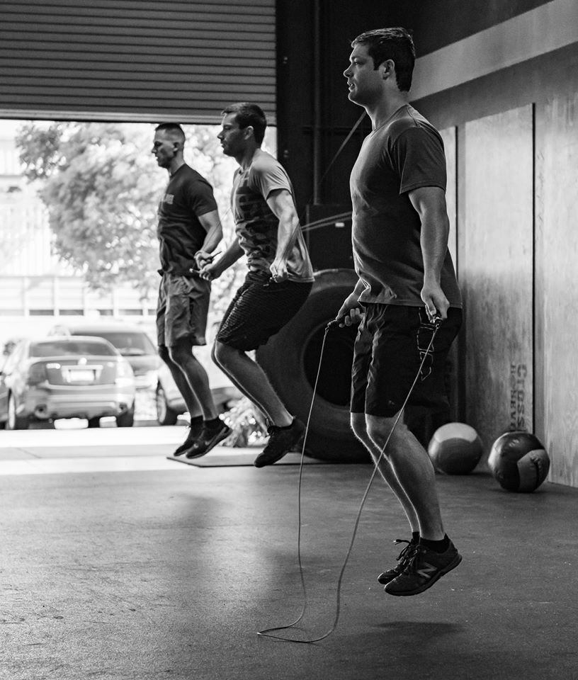 Jesse McWhirk at CrossFit Roseville