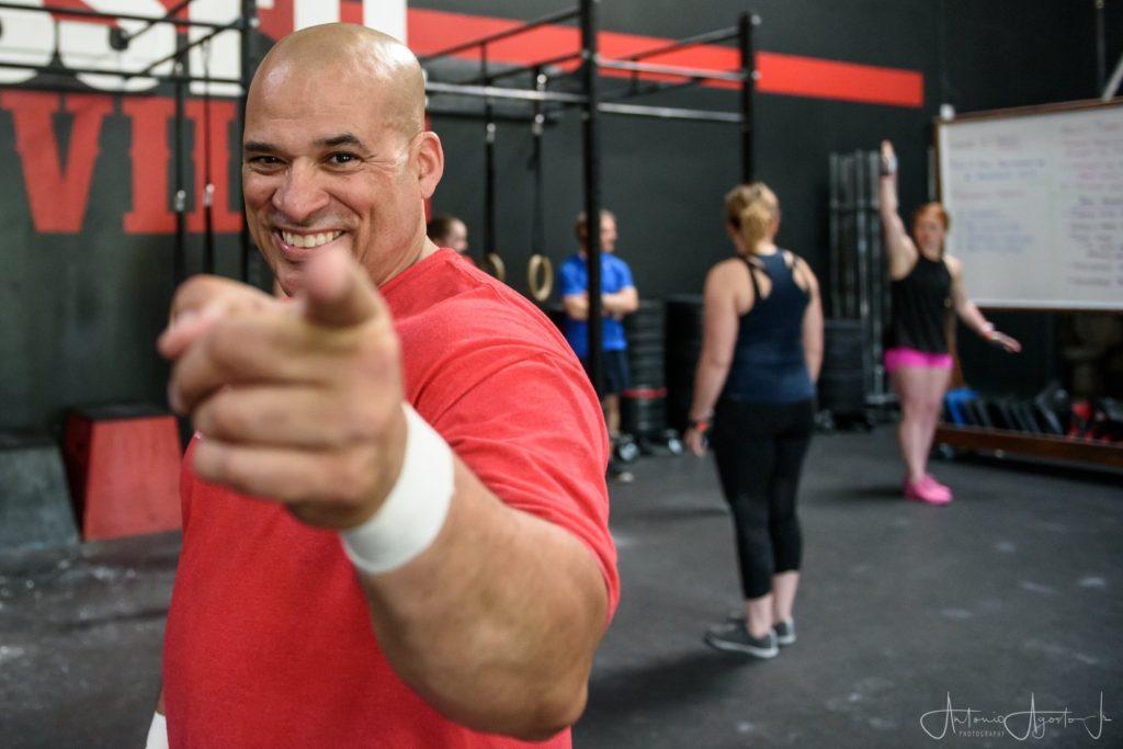 Tony Agosto at CrossFit Roseville
