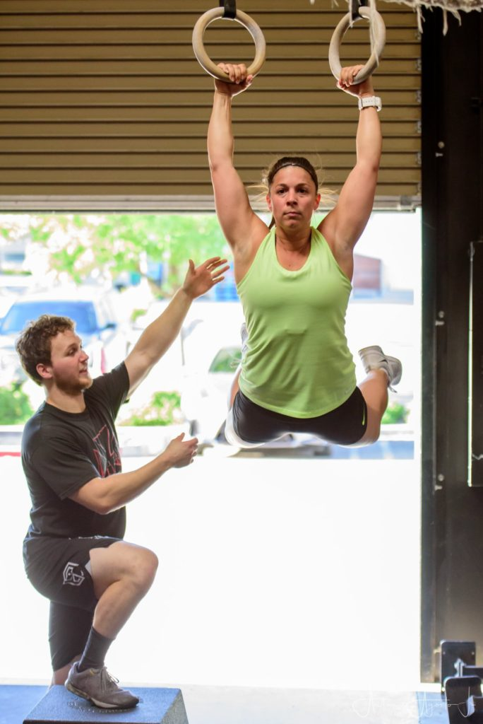 Coach Josh and Michelle McDaniel at CrossFit Roseville