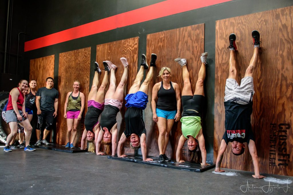 Gymnastics Class at CrossFit Roseville