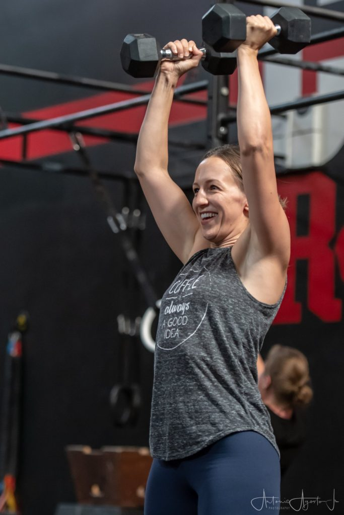 Amila Kuduzovic at CrossFit Roseville