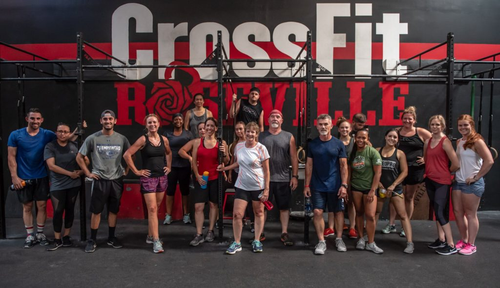 Group Class at CrossFit Roseville