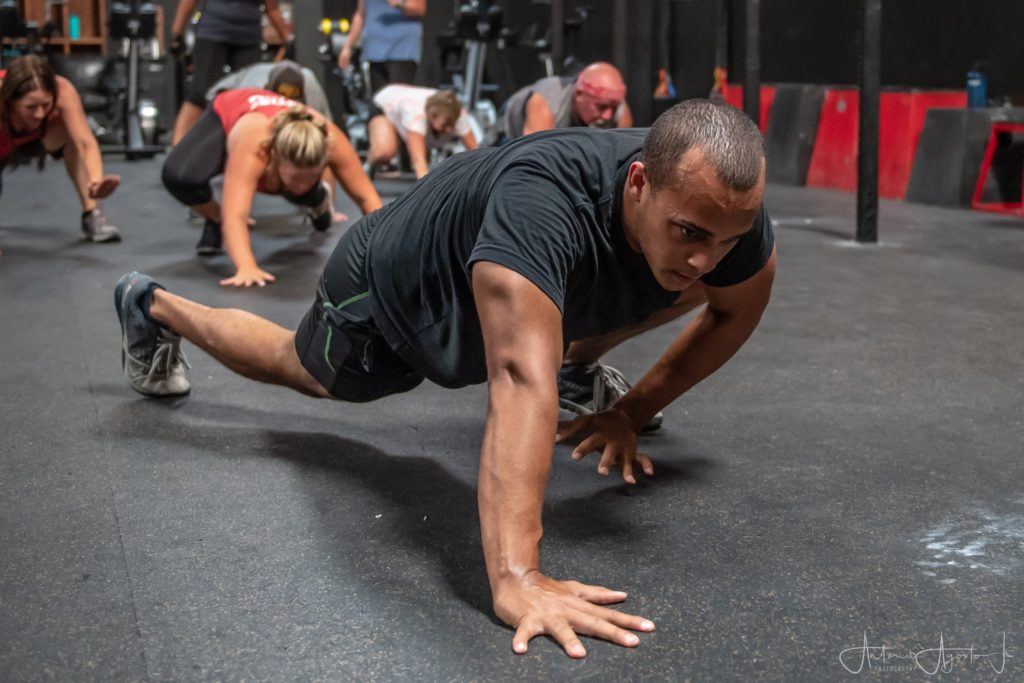 Kevin King at CrossFit Roseville