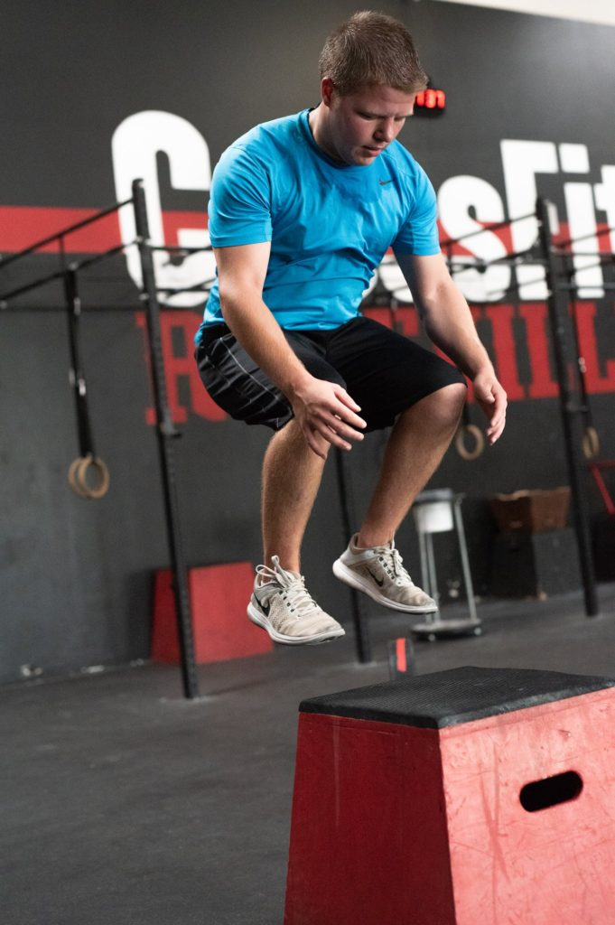 Jake Olenek at CrossFit Roseville