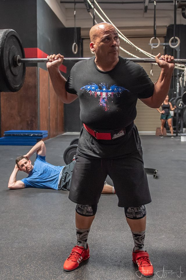 Tony Agosto at CrossFit Roseville