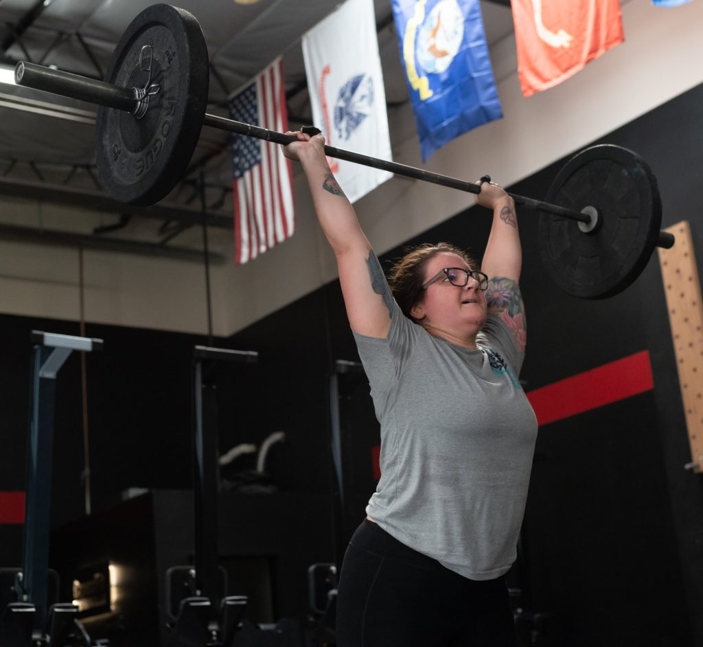 Erika Santiago at CrossFit Roseville