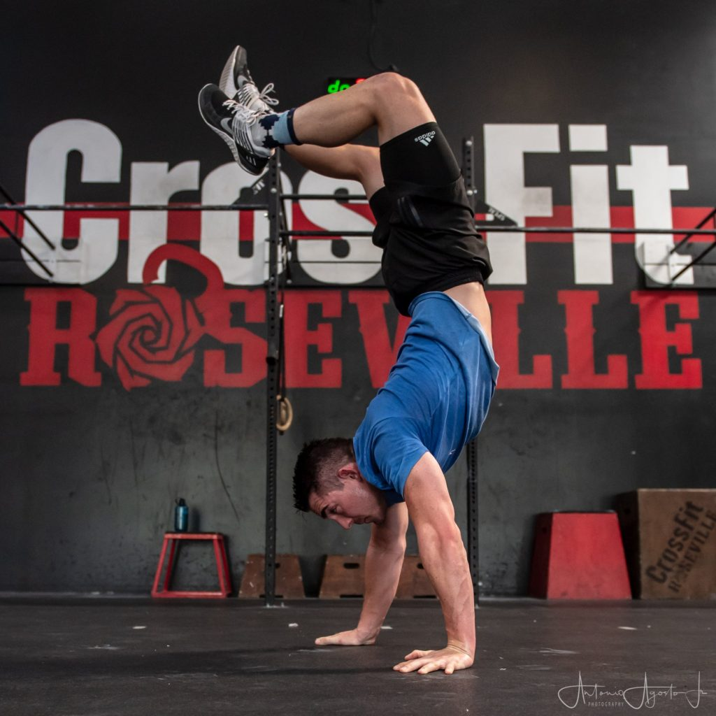 Spencer Lukehart at CrossFit Roseville