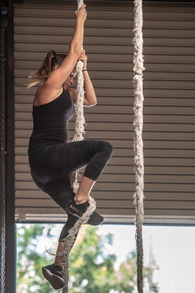 Nicole Chase at CrossFit Roseville