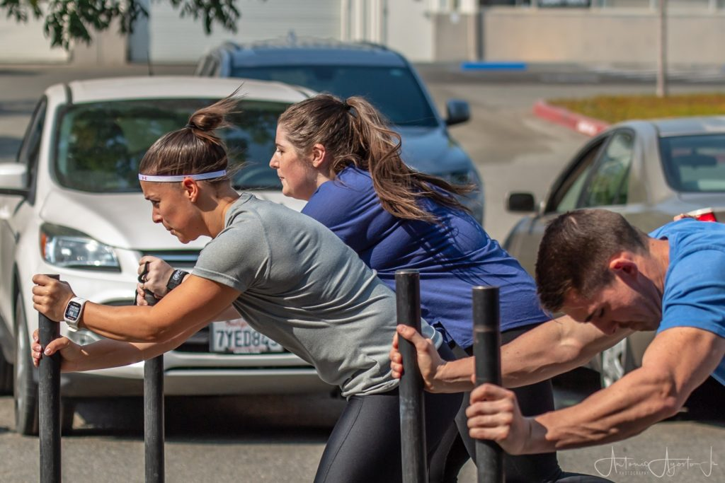 Michelle McDaniel at CrossFit Roseville
