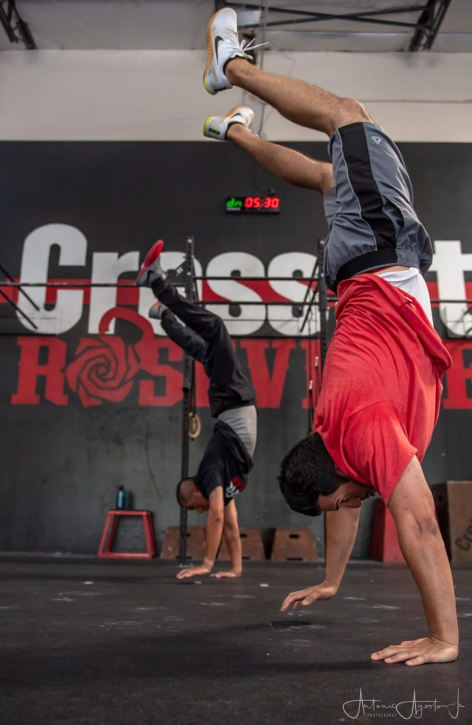 Harjeet Mann at CrossFit Roseville