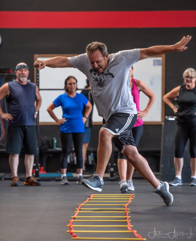 Terry Orr at CrossFit Roseville