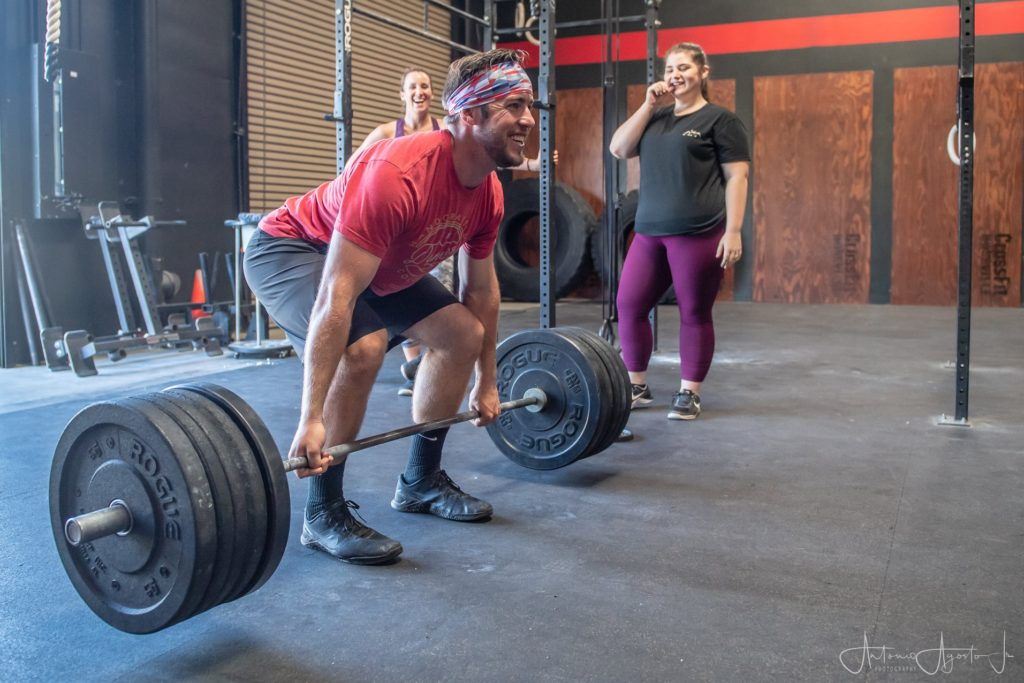Alan Morte at CrossFit Roseville
