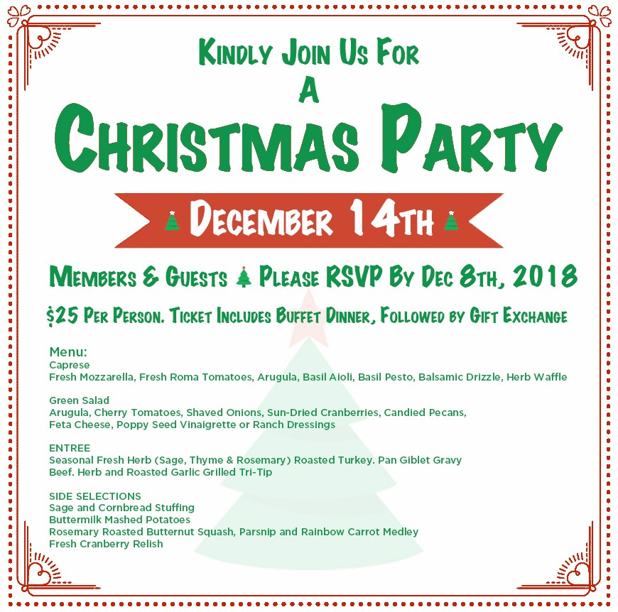 2018 CFRV Christmas Party