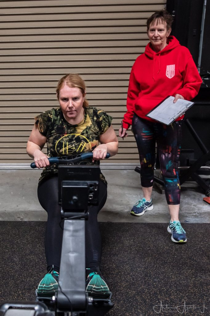 Veronica Montes at CrossFit Roseville