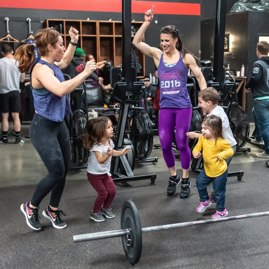 CrossFit Roseville Forging Fit Families