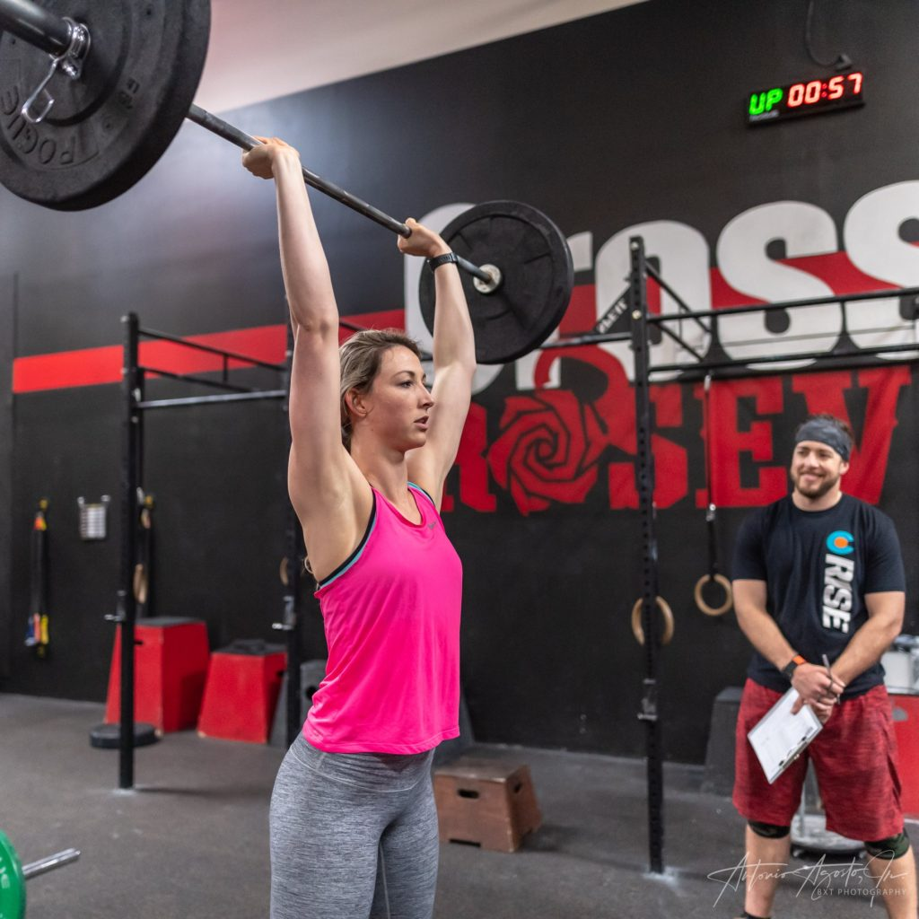 Katie and Alan at CrossFit Roseville