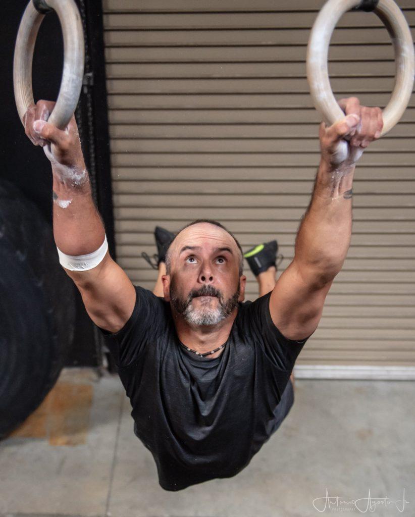 Aaron Hagman at CrossFit Roseville